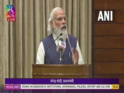 Democracy in India not just collection of streams of constitution, it is life-stream: PM Modi   Democracy in India not just collection of streams of constitution, it is life-stream: PM Modi