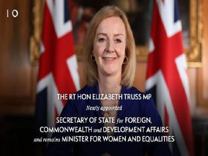 Liz Truss replaces Dominic Raab as UK Foreign Secretary   Liz Truss replaces Dominic Raab as UK Foreign Secretary