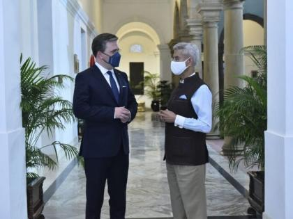 Jaishankar holds 'fruitful discussions' with Serbian counterpart | Jaishankar holds 'fruitful discussions' with Serbian counterpart