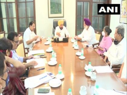 Punjab CM Channi in his first cabinet meet deliberates upon pro-poor initiatives   Punjab CM Channi in his first cabinet meet deliberates upon pro-poor initiatives