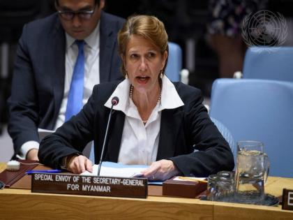 UN special envoy on Myanmar calls for collective responsibility to safeguard protesters' democratic aspirations   UN special envoy on Myanmar calls for collective responsibility to safeguard protesters' democratic aspirations