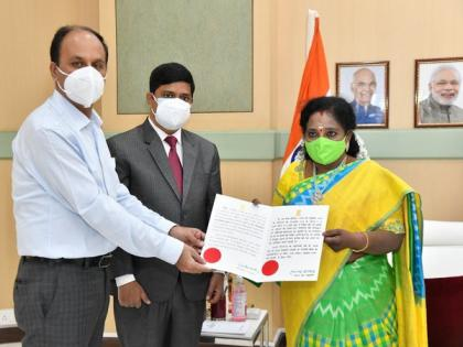 Tamilisai Soundararajan takes additional charge as Puducherry LG   Tamilisai Soundararajan takes additional charge as Puducherry LG