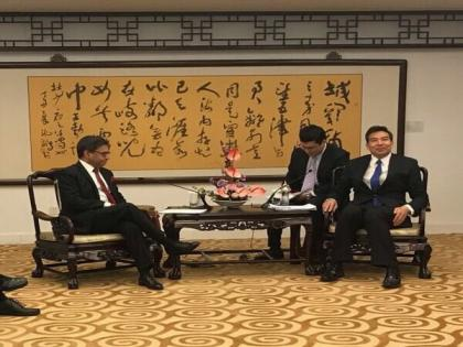 Indian envoy meets Chinese Vice Foreign Minister, emphasises on complete disengagement in eastern Ladakh   Indian envoy meets Chinese Vice Foreign Minister, emphasises on complete disengagement in eastern Ladakh