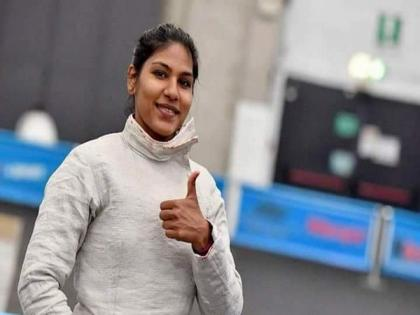 Bhavani Devi scripts history, becomes first Indian fencer to qualify for Olympics | Bhavani Devi scripts history, becomes first Indian fencer to qualify for Olympics
