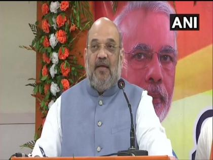 Amit Shah greets personnel on 186th Rising Day of Assam Rifles | Amit Shah greets personnel on 186th Rising Day of Assam Rifles