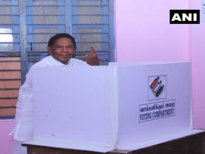 Puducherry polls: 14.01 per cent voter turnout till 9.30 am   Puducherry polls: 14.01 per cent voter turnout till 9.30 am