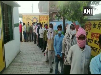 Polling begins for third phase of UP Panchayat elections | Polling begins for third phase of UP Panchayat elections