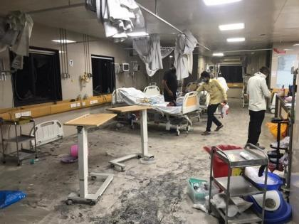 4 COVID patients dead in fire at Surat hospital | 4 COVID patients dead in fire at Surat hospital