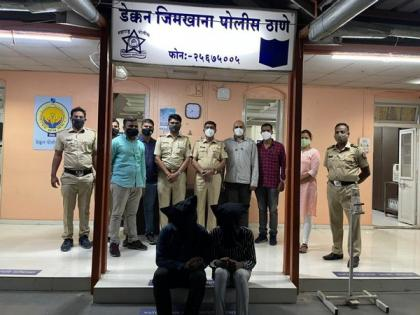 Two held in Pune for issuing fake RT-PCR reports | Two held in Pune for issuing fake RT-PCR reports