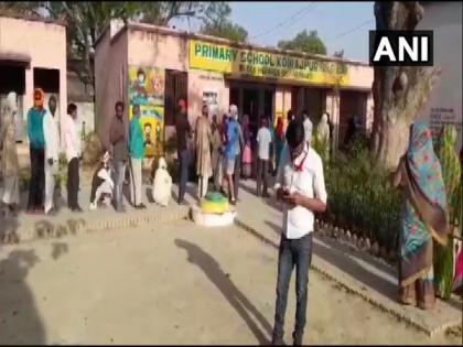 Polling begins for second phase of UP Panchayat elections   Polling begins for second phase of UP Panchayat elections