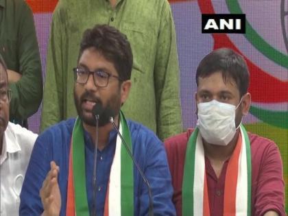 Jignesh Mewani clarifies he could not join Congress due to 'technical' reasons | Jignesh Mewani clarifies he could not join Congress due to 'technical' reasons
