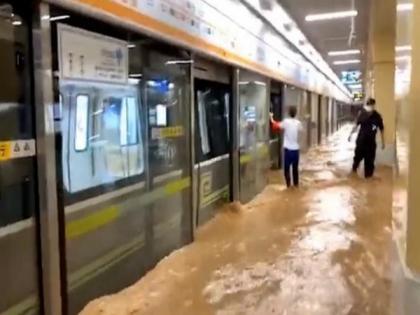 33 dead, 8 missing in China's flood-hit Henan | 33 dead, 8 missing in China's flood-hit Henan