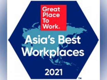 Great Place to Work® announces the Best Workplaces in Asia™ 2021 representing 3.3 plus million employee experiences   Great Place to Work® announces the Best Workplaces in Asia™ 2021 representing 3.3 plus million employee experiences