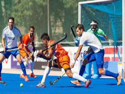 Argentina beat India 1-0 in third practice match | Argentina beat India 1-0 in third practice match