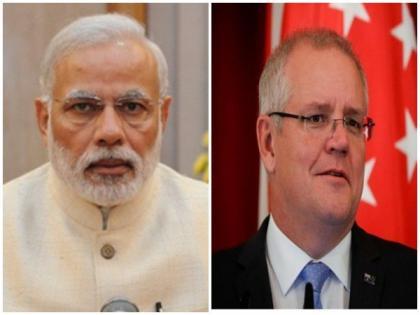 PM Modi, Scott Morrison review progress in India-Australia Comprehensive Strategic Partnership   PM Modi, Scott Morrison review progress in India-Australia Comprehensive Strategic Partnership