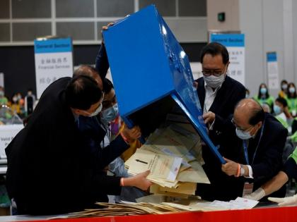 Polls close in first elections post electoral system changes in Hong Kong | Polls close in first elections post electoral system changes in Hong Kong