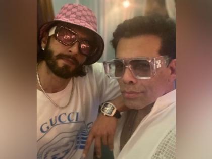 Ranveer Singh, Karan Johar in Delhi for recce of 'Rocky Aur Rani Ki Prem Kahani'   Ranveer Singh, Karan Johar in Delhi for recce of 'Rocky Aur Rani Ki Prem Kahani'