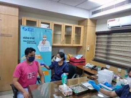 COVID-19: IREDA, NHPC vaccinate over 300 employees in two-day camp | COVID-19: IREDA, NHPC vaccinate over 300 employees in two-day camp