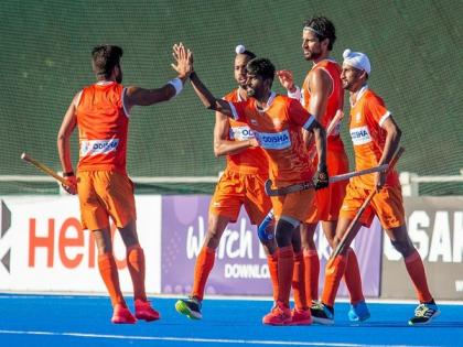 India end Argentina tour on winning note, clinch fourth practice match 4-2 | India end Argentina tour on winning note, clinch fourth practice match 4-2
