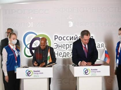 Union Minister RCP Singh signs MoU on collaboration in coking coal sector with Minister of Energy of Russian Federation in Moscow   Union Minister RCP Singh signs MoU on collaboration in coking coal sector with Minister of Energy of Russian Federation in Moscow