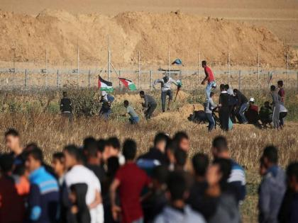 Palestine says teen protestor shot dead by Israeli soldiers | Palestine says teen protestor shot dead by Israeli soldiers