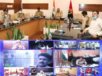 J-K DGP chairs high-level security review meeting in Jammu | J-K DGP chairs high-level security review meeting in Jammu
