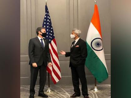 Jaishankar discusses Covid challenge, vaccine production capacity, supply chains with US State Secy Blinken | Jaishankar discusses Covid challenge, vaccine production capacity, supply chains with US State Secy Blinken