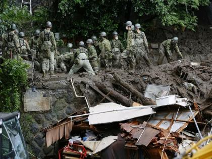 UN chief saddened by loss of life in Japan mudslide   UN chief saddened by loss of life in Japan mudslide