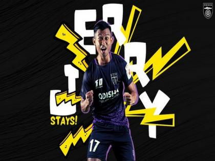 Odisha FC announces contract extension for Jerry Mawihmingthanga | Odisha FC announces contract extension for Jerry Mawihmingthanga