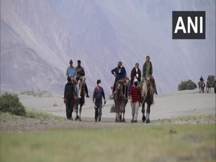 Ladakh witnessing rapid development after getting UT status | Ladakh witnessing rapid development after getting UT status