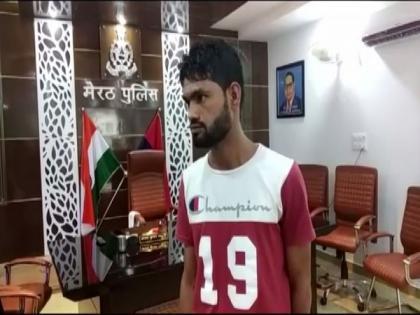 Meerut: Wanted murder accused walks into police station, surrenders before cops | Meerut: Wanted murder accused walks into police station, surrenders before cops