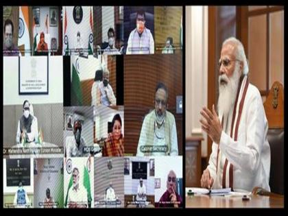 PM Modi chairs meeting of council of ministers, says government working rapidly to deal with COVID-19 situation | PM Modi chairs meeting of council of ministers, says government working rapidly to deal with COVID-19 situation