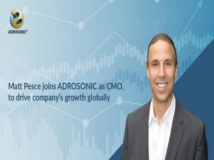 Matt Pesce joins ADROSONIC as CMO to drive company's growth globally   Matt Pesce joins ADROSONIC as CMO to drive company's growth globally