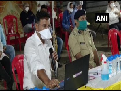 District Collector, Indore, meets govt officials over Unlock 1 | District Collector, Indore, meets govt officials over Unlock 1