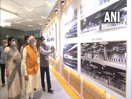 PM Modi inaugurates exhibition complex at New Delhi's Pragati Maidan   PM Modi inaugurates exhibition complex at New Delhi's Pragati Maidan