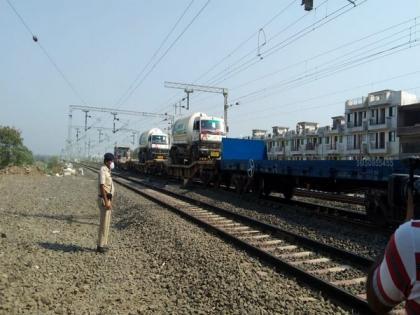Railways delivers 14,500 MT of liquid medical oxygen so far   Railways delivers 14,500 MT of liquid medical oxygen so far