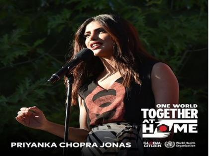Priyanka Chopra to participate in virtual benefit concert for COVID-19   Priyanka Chopra to participate in virtual benefit concert for COVID-19