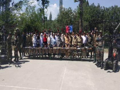 3 J-K NCC Battalion cadets visit army unit at Pattan | 3 J-K NCC Battalion cadets visit army unit at Pattan