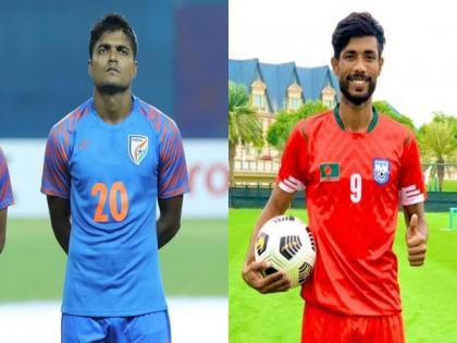India defender Pritam Kotal lent helping hand to Bangladesh striker Jibon during surgery   India defender Pritam Kotal lent helping hand to Bangladesh striker Jibon during surgery