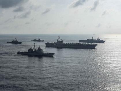 Ronald Reagan carrier strike group enters US 5th Fleet | Ronald Reagan carrier strike group enters US 5th Fleet