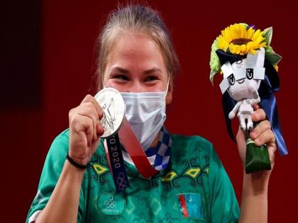 Two years ago, I didn't even think about this: Polina Guryeva as she wins Turkmenistan's 1st Olympic medal   Two years ago, I didn't even think about this: Polina Guryeva as she wins Turkmenistan's 1st Olympic medal