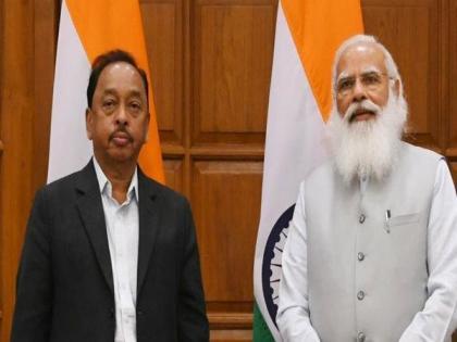 Narayan Rane takes charge as new MSME Minister | Narayan Rane takes charge as new MSME Minister