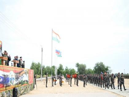 India-Russia joint training exercise INDRA 2021 begins in Volgograd | India-Russia joint training exercise INDRA 2021 begins in Volgograd