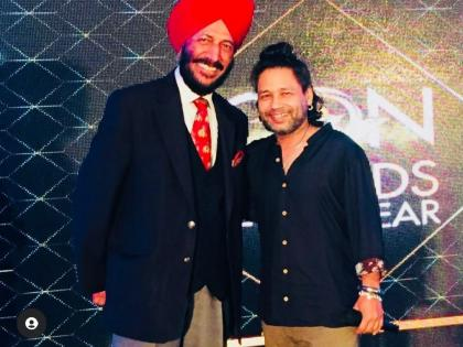 Singer Kailash Kher pays tribute to late legendary athlete Milkha Singh | Singer Kailash Kher pays tribute to late legendary athlete Milkha Singh