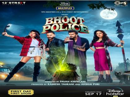'Bhoot Police' to release on September 17   'Bhoot Police' to release on September 17