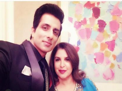 Sonu Sood collaborates with Farah Khan for a song   Sonu Sood collaborates with Farah Khan for a song