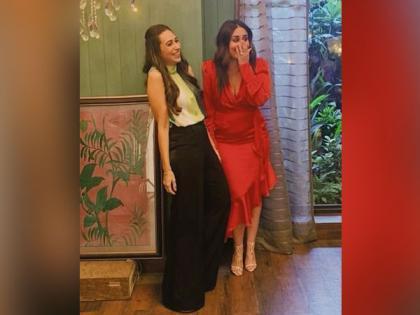 Karisma Kapoor, Kareena Kapoor Khan shot together for 'something exciting' | Karisma Kapoor, Kareena Kapoor Khan shot together for 'something exciting'