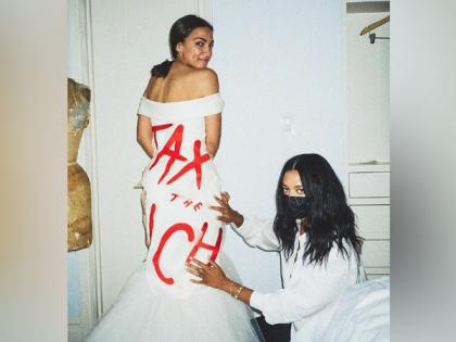 'Tax the Rich': Alexandria Ocasio-Cortez's Met Gala 2021 look comes with a political message | 'Tax the Rich': Alexandria Ocasio-Cortez's Met Gala 2021 look comes with a political message