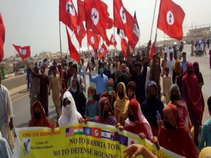 Pakistan: Rally, protest organised in Karachi against land-grabbing of Sindh   Pakistan: Rally, protest organised in Karachi against land-grabbing of Sindh