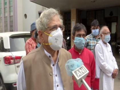 Political parties will react only after Centre issues authoritative statement, says Yechury on incident involving Abhinandan | Political parties will react only after Centre issues authoritative statement, says Yechury on incident involving Abhinandan